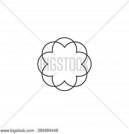 Water Lily Lotus Logo - Beauty Spa Flower Symbol Wellness Health Meditation Beauty Luxury Female Nat