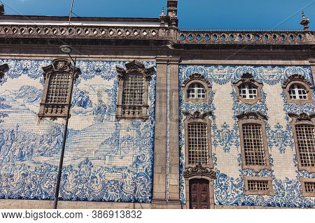 Tile Work Of The Carmo Church, Porto, Portugal
