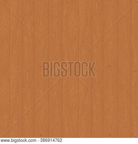 Seamless Pattern Hand-drawn Wooden Plank Texture. Timber Surface Alder Brown Color Can Be Used As Ba