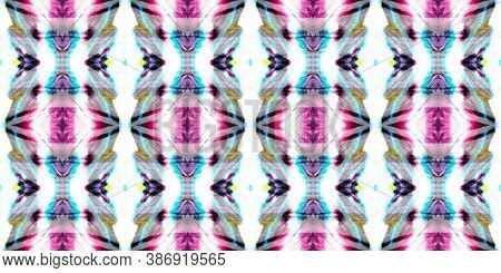 Folk Tribal Seamless Pattern. Bohemian Oriental Chevron. Geometric Abstract Native Ethnic Background