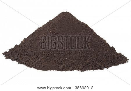Pile of soil