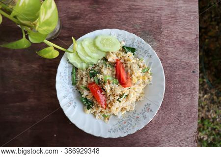 Fried Rice Or Stir Fried Rice With Vegetable