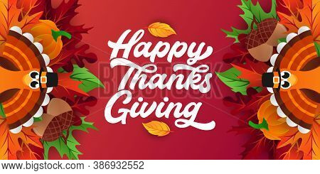 Happy Thanksgiving day background vector. Thanksgiving vector. Thanksgiving vector background. Thanksgiving Day celebration vector illustration. Thanksgiving holiday design. Thanksgiving dinner vector. Thanksgiving vector illustration template