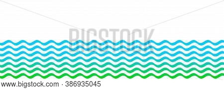 Water Wave Stripes, Water Waves Blue Green For Background, Water Ripples Light Blue, Ocean Sea Surfa