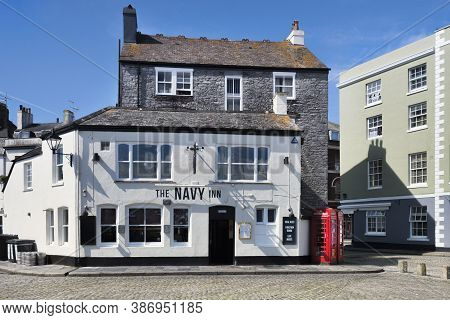 2 June 2018: Plymouth, Devon, Uk - The Navy Inn On The Waterfront In Plymouth Barbican.