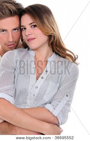 Affectionate couple