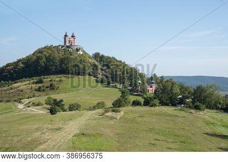 Slovak Banska Stiavnica Calvary On The Hill