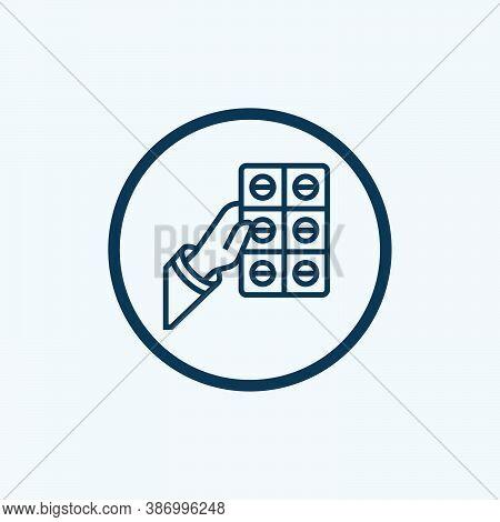 Medicine. Medicine Icon. Medicine Vector. Medicine Icon Vector. Medicine Box Illustration Template.