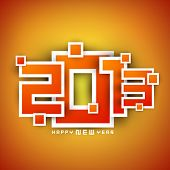 2013 Happy New Year background. EPS 10 poster