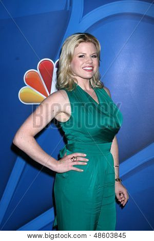 Jesse SpencerLOS ANGELES - JUL 27:  Megan Hilty at the NBC TCA Summer Press Tour 2013 at the Beverly Hilton Hotel on July 27, 2013 in Beverly Hills, CA