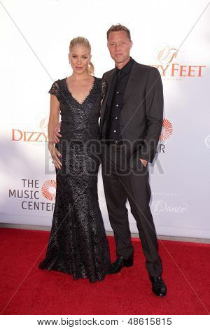 Jesse SpencerLOS ANGELES - JUL 27:  Christina Applegate, Martyn LeNoble arrives at the 3rd Annual Celebration of Dance Gala at the Dorothy Chandler Pavilion on July 27, 2013 in Los Angeles, CA