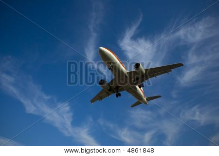 Plane Landing Or Flying Away