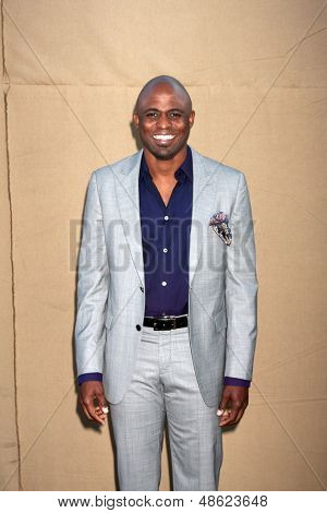 LOS ANGELES - JUL 29:  Wayne Brady arrives at the 2013 CBS TCA Summer Party at the private location on July 29, 2013 in Beverly Hills, CA
