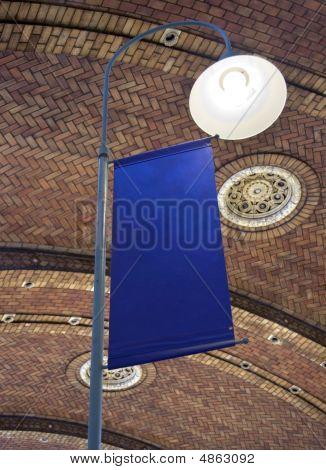 Blank Blue Banner