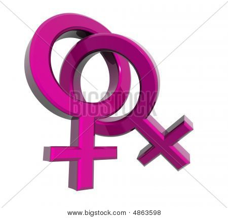 Woman-woman Symbols