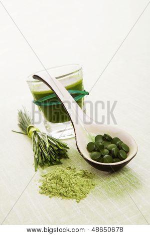 Green Natural Superfood.