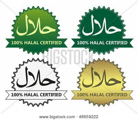 4 Halal Product Labels