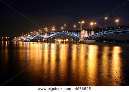 Rhine Bridge Theodor-heuss-brücke