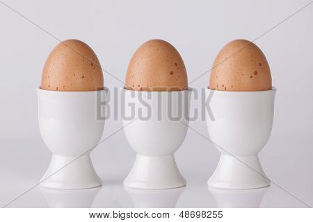 Three Boiled Eggs