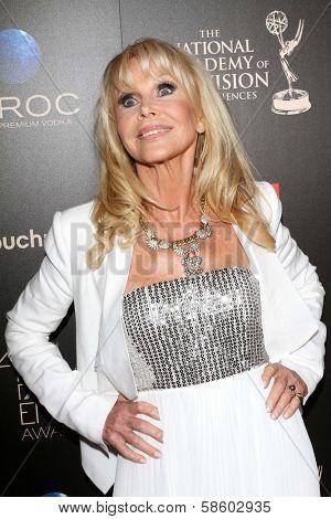 Britt Ekland at the 40th Annual Daytime Emmy Awards, Beverly Hilton Hotel, Beverly Hills, CA 06-16-13