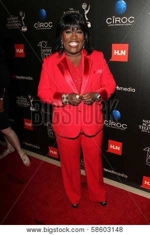 Sheryl Underwood at the 40th Annual Daytime Emmy Awards, Beverly Hilton Hotel, Beverly Hills, CA 06-16-13
