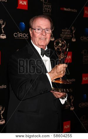 Charles Osgood in the 40th Annual Daytime Emmy Awards Press Room, Beverly Hilton, Beverly Hills, CA 06-16-13