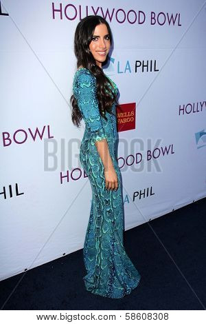 Caren Brooks at the Hollywood Bowl Hall of Fame Opening Night, Hollywood Bowl, Hollywood, CA 06-22-13
