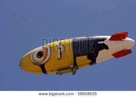 Blimp at the