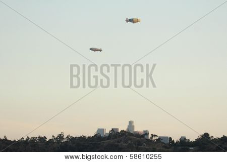 The Goodyear Blimp and the