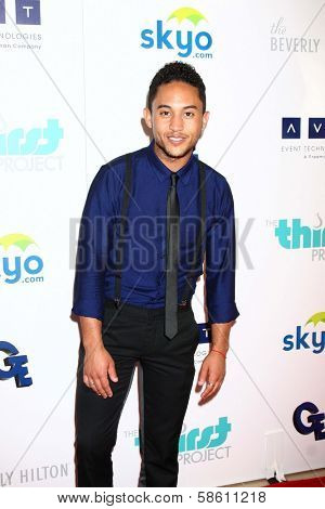 Tahj Mowry at the 4th Annual Thirst Gala, Beverly Hilton Hotel, Beverly Hills, CA 06-25-13