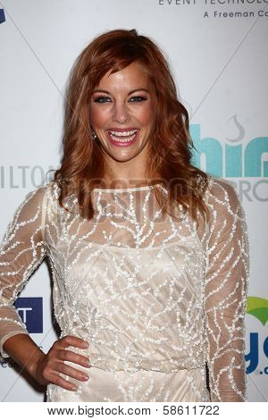 Amy Paffrath at the 4th Annual Thirst Gala, Beverly Hilton Hotel, Beverly Hills, CA 06-25-13