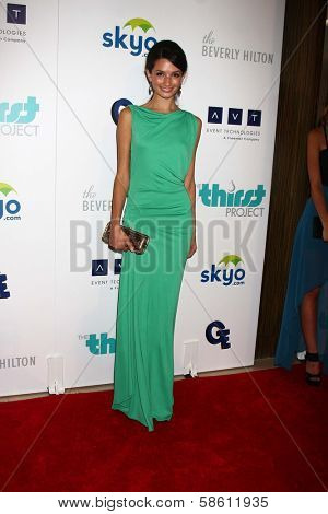 Alice Greczyn at the 4th Annual Thirst Gala, Beverly Hilton Hotel, Beverly Hills, CA 06-25-13