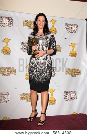 Allison Abbate at the 39th Annual Saturn Awards Press Room, The Castaway, Burbank, CA 06-26-13