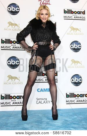 Madonna at the 2013 Billboard Music Awards Press Room, MGM Grand, Las Vegas, NV 05-19-13