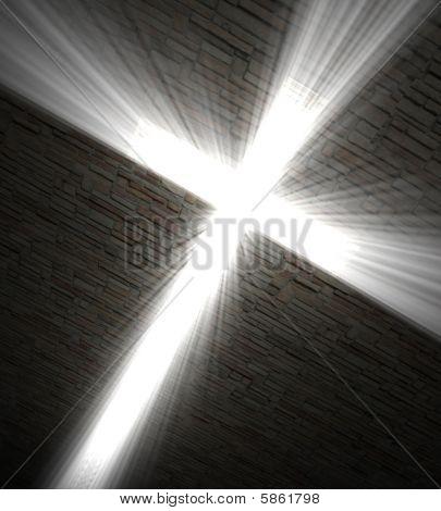Христианский крест света