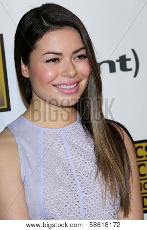 Miranda Cosgrove at the 3rd Annual Critics' Choice Television Awards, Beverly Hilton Hotel, Beverly Hills, CA 06-10-13