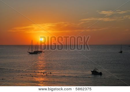 Sunset in Cabo San Lucas, Mexico
