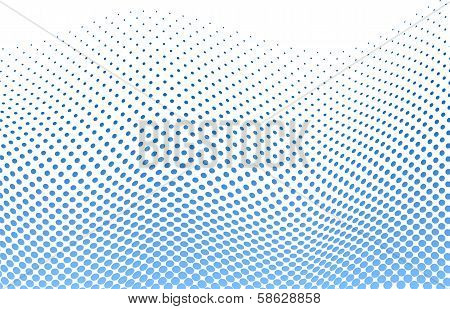 Dotted Halftone Background