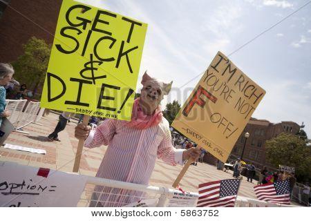 Health Reform Demonstration at UCLA