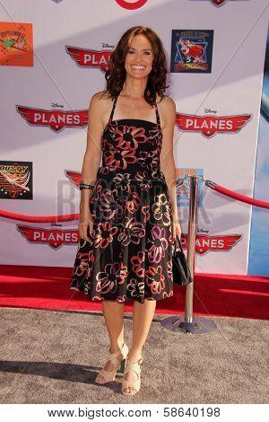 Amy Brenneman at the World Premiere Of Disney's Planes, El Capitan, Hollywood, CA 08-05-13