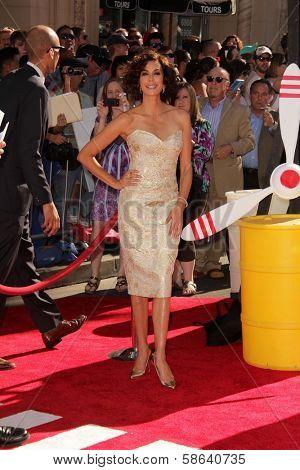 Teri Hatcher at the World Premiere Of Disney's Planes, El Capitan, Hollywood, CA 08-05-13