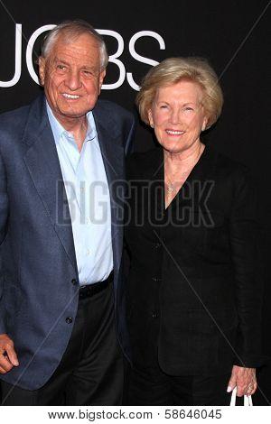 Garry Marshall and Barbara Marshall at the