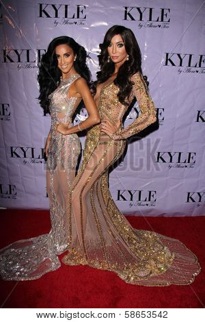 Lilly Ghalichi and Yasmine Petty at the Have Faith Swimgerie By Lilly Ghalichi And Jennifer Stano David 2014 Collection Preview, Kyle By Alene Too, Beverly Hills, CA 08-20-13