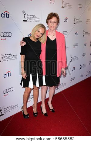 Kristin Chenoweth, Carol Burnett at