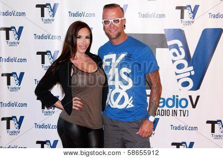 Nikki Giavasis, DJ Scotty Boy at