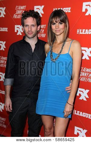 Glenn Howerton, Jill Latiano at the FXX Network Launch Party and