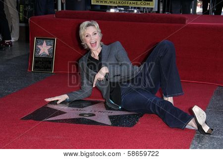 Jane Lynch at the Jane Lynch Star on the Hollywood Walk of Fame Ceremony, Hollywood, CA 09-04-13
