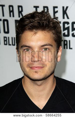Emile Hirsch at the