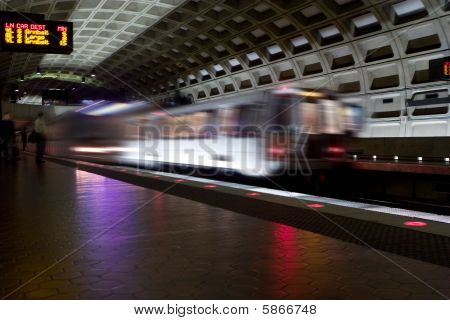 Metro In Washington Dc