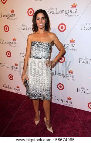 Ana Ortiz at the Eva Longoria Foundation Dinner, Beso, Hollywood, CA 09-29-13